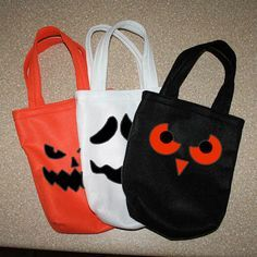 How to make a treats bag for Halloween / Cómo hacer una bolsa para pedir dulces en Halloween