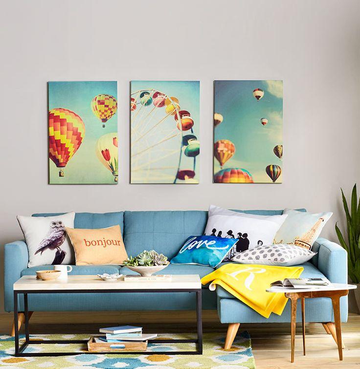 40 best living room images on pinterest living room for Colorful whimsical living room