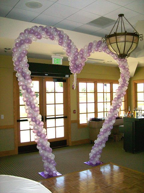 72 best images about fairytale wedding on pinterest for Balloon decoration for wedding reception