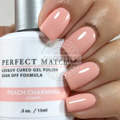 LeChat Peach Charming - swatch by Chickettes.com