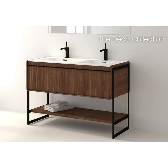 Wetstyle Dco48fl Deco 48 Vanity Black Bedroom Furniture Pine