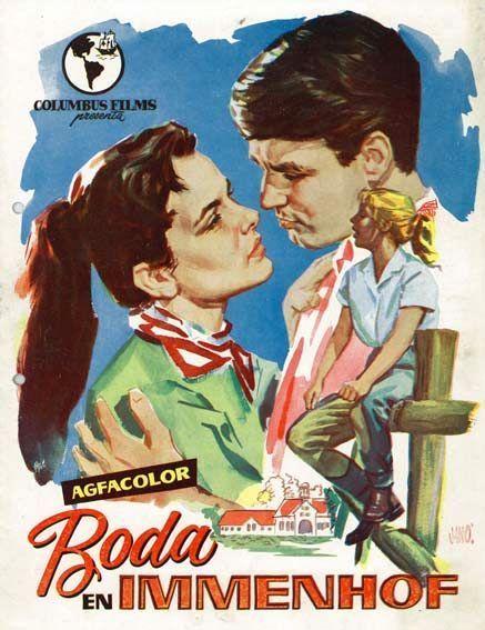 """Boda en Immenhof (1956) """"Hochzeit auf Immenhof"""" de Volker von Collande - tt0049318"""