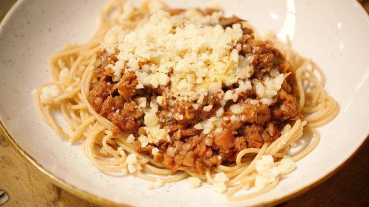 Spaghetti Bolognese met linzen | Dagelijkse kost