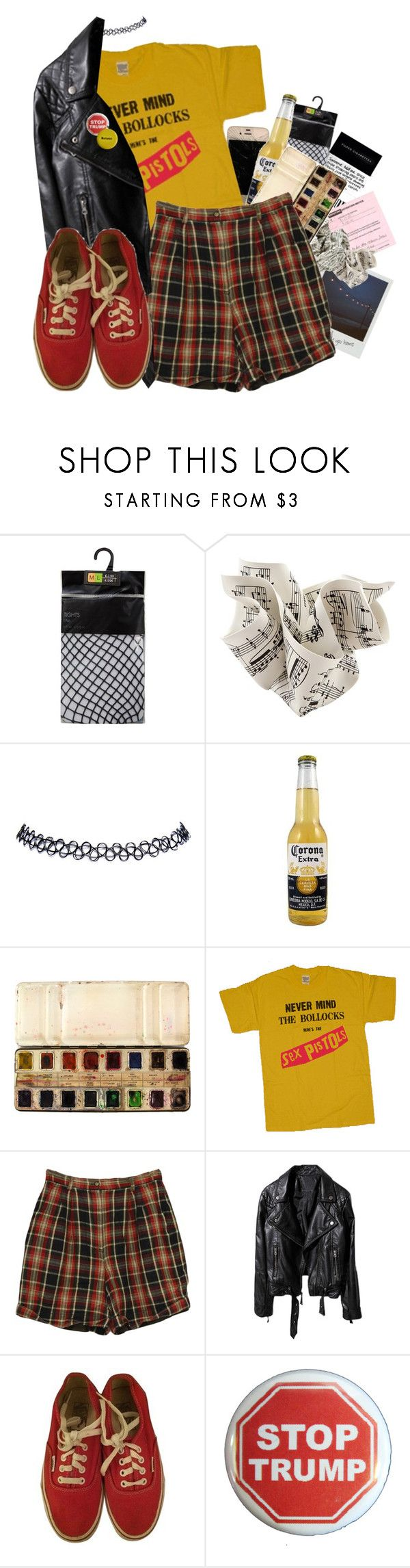 """""""''I'm gonna fight for what I want to be.''"""" by prettymuchtrash ❤ liked on Polyvore featuring Wet Seal, Izod, Vans and Trump Home"""