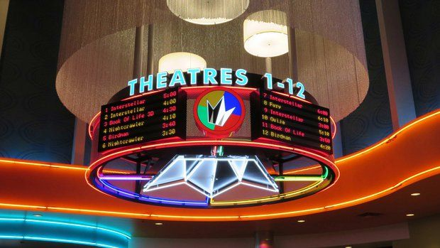 Regal's Carlsbad 12 is set to open Sunday at Westfield Plaza Camino Real in Carlsbad. Photo courtesy of Regal Entertainment Group