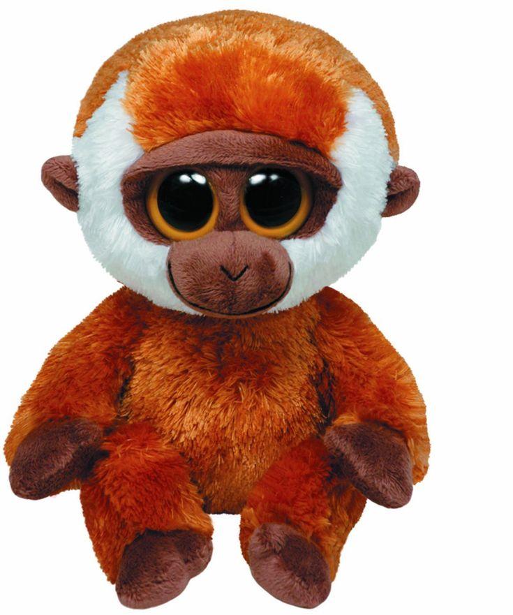 """Ty+Beanie+Boos+Bongo+Orangutan+6""""+Plush+36077"""