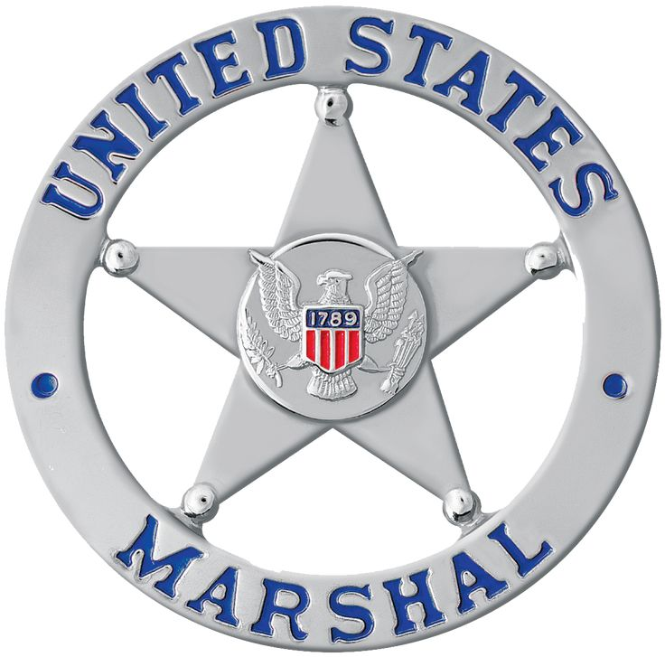 US MARSHALS SERVICE BADGE - AMERICA'S STAR!