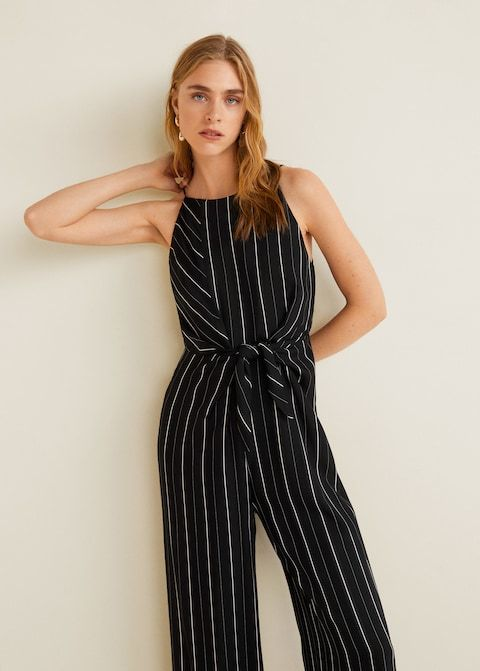 2019 Summer Sleeveless Wide Leg Jumpsuit Women Round-neck Bandage High Waist Jumpsuits Casual Loose Long Rompers Products Are Sold Without Limitations Women's Clothing