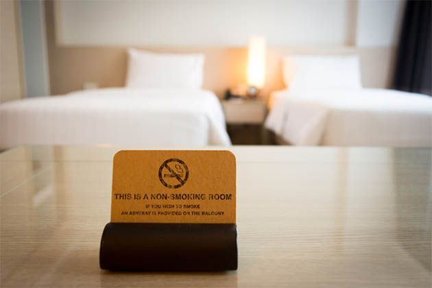Cruise line smoking policies