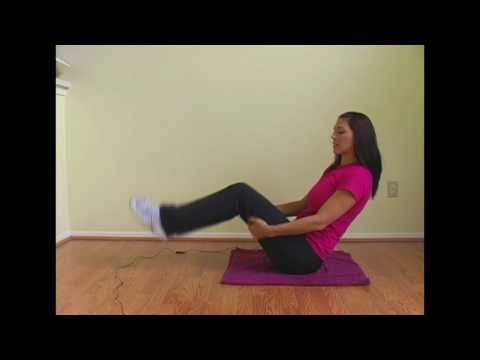 5 Min Super Abs Workout Video: Exercise w/ Emmy