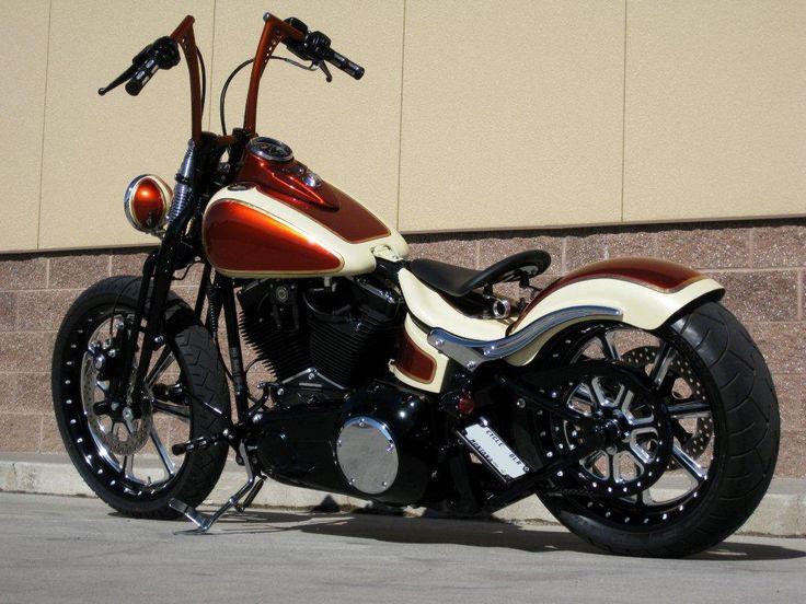 Awesome Harley Painting   Motos personalizadas pelo mundo!