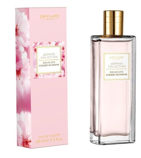 Oriflame Women's Collection Delicate Cherry Blossom Box and Bottle
