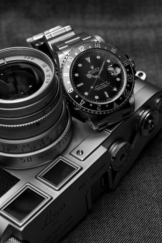 Is a Rolex the Lecia of watches or is a Lecia the Rolex of Cameras? One of the…