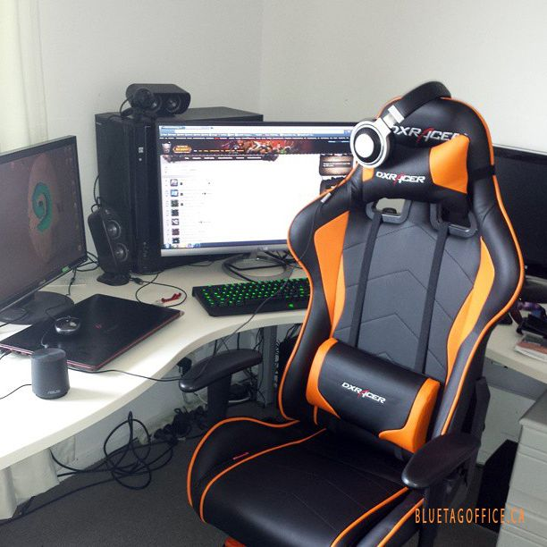 Super Cool Gaming Setup With The Dxracer F Series Gaming