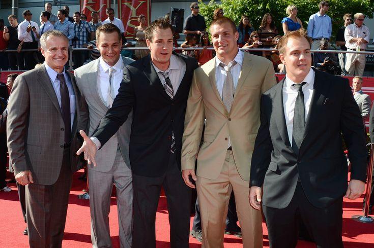 Rob Gronkowski Glenn Gronkowski Photos: The 2012 ESPY Awards - Arrivals