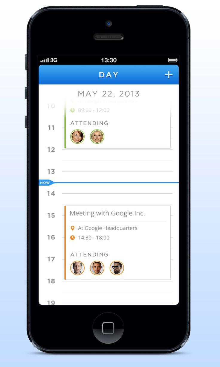 Day Calendar App