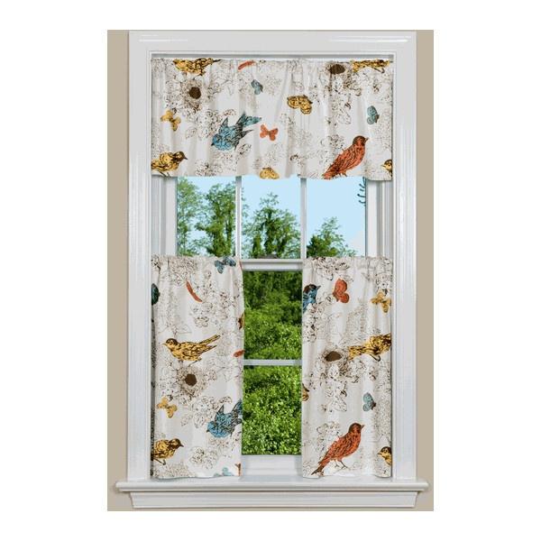 Thomas Paul Bird Kitchen Curtains Found On Polyvore