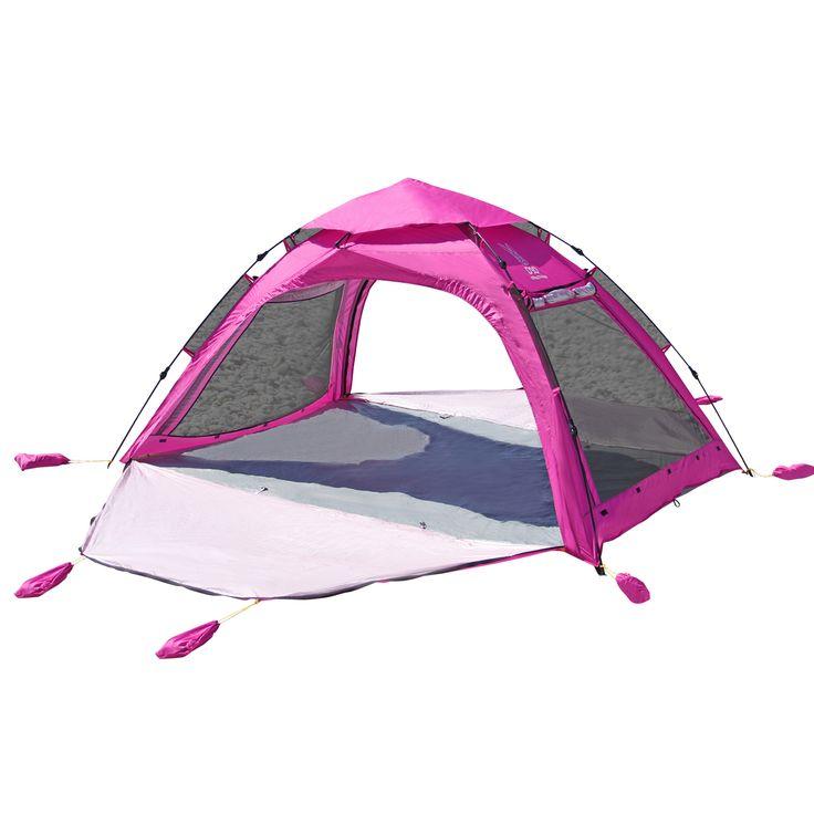 DOPPELGANGER OUTDOOR (ドッペルギャンガーアウトドア) 略してDOD。 みんなで入れる。ワンタッチで設営可能な大型サイズのビーチテント。 #キャンプ #アウトドア #テント #タープ #チェア #テーブル #ランタン #寝袋 #グランピング #DIY #BBQ #DOD #ドッペルギャンガー