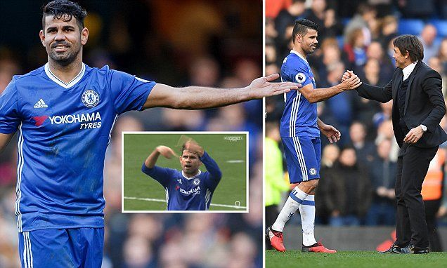 How Diego Costa became Chelsea's most important player #DailyMail