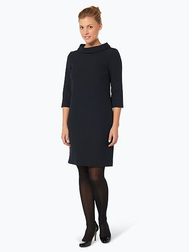 Marie Lund Damen Kleid - In einem besonders eleganten Design präsentiert sich dieses Kleid mit halblangen Ärmeln von Marie Lund.