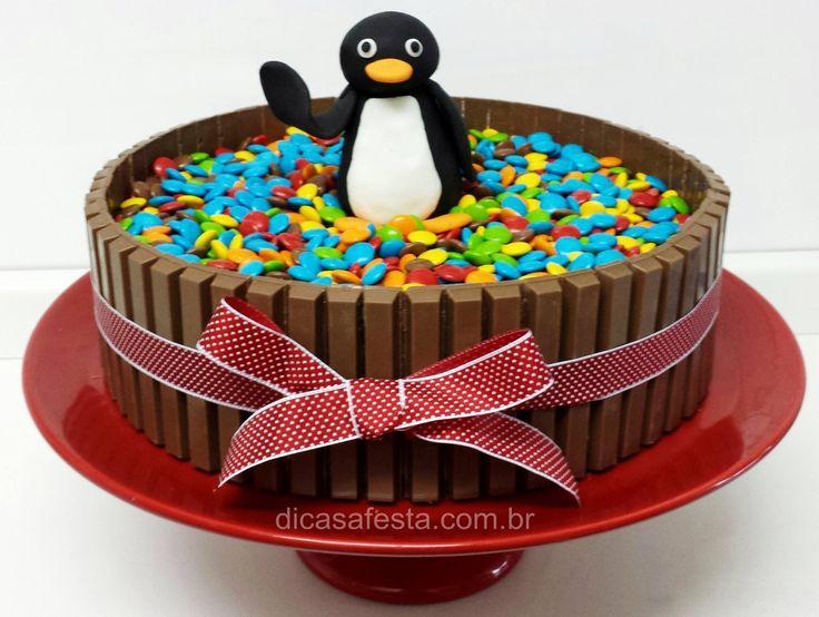#Pingu #kitkatcake #chocolatecake #cake #bolodeKitKat #KitKat