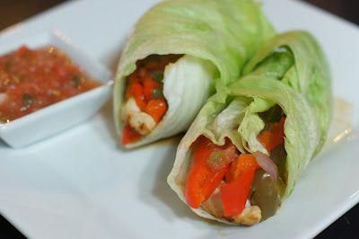 Lettuce wrap fajitas and more healthy fajita recipe favorites on MyNaturalFamily.com #fajita #recipe