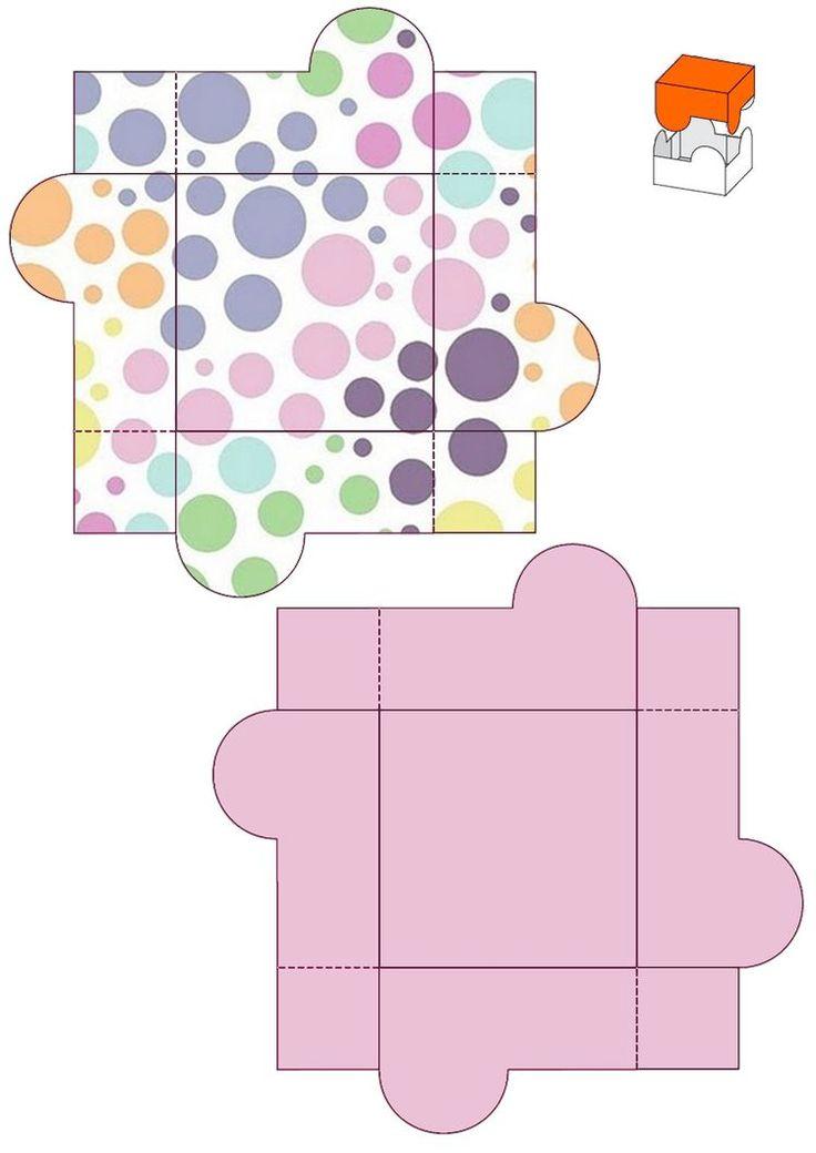 Как сделать открытку коробку из бумаги, картинки