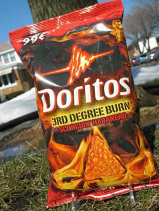 Crazy Doritos flavors