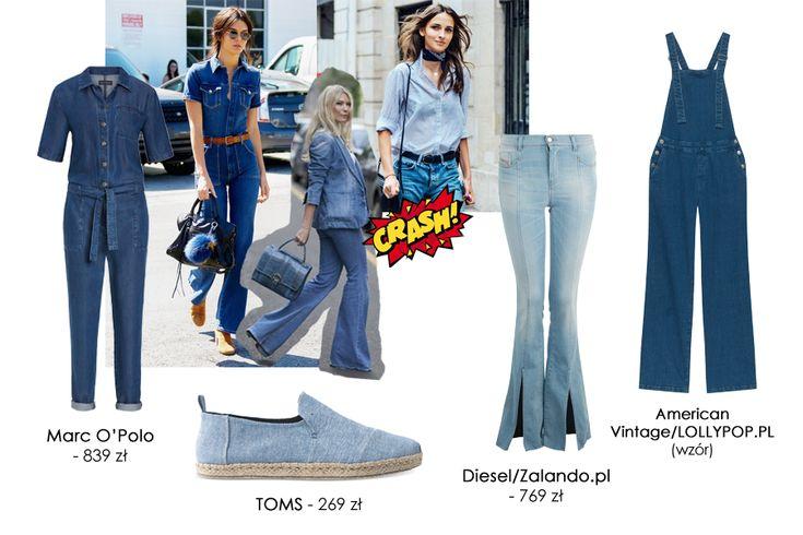 Denim total look       Zobacz cały artykuł na naszej stronie: https://fashionmedia.pl/2017/03/28/denim-total-look-2/  Kategorie: #Stylizacje Tagi: