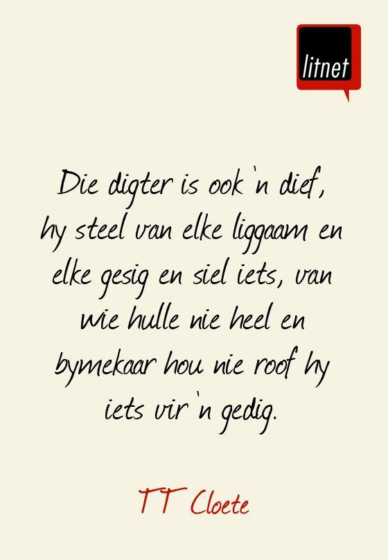 TT Cloete #afrikaans #skrywers #nederlands #segoed #dutch #suidafrika #litnet…