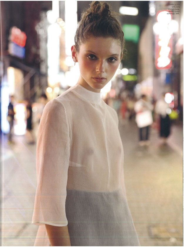 EMBR Jewellery | Fashion Quarterly editorial Spring 2016  Top: World brand NZ