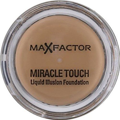 MAX FACTOR MIRACLE TOUCH Liquid Illusion Foundation 11.5g ROSE BEIGE 65 by Max Factor. MAX FACTOR MIRACLE TOUCH Liquid Illusion Foundation 11.5g ROSE BEIGE 65. 11g.