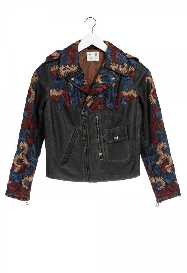 The Biker Jacket - PISTOL POCKET BIKER JACKET - - MiH