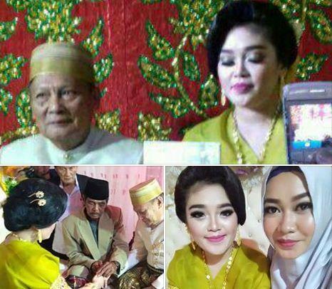 SULAWESION.COM, BONE – Pernikahan dengan usia terpaut jauh kembali terjadi di Sulawesi Selatan (Sulsel) tepatnya, Kabupaten Bone. Seorang Kakek berusia 70-an tahun, Tajuddin Kammisi menikahi gadis Andi Vytriana yang baru berusia 25 tahun, atau terpaut 45 tahun usia mereka. Pernikahan ini jadi heboh, hingga jadi viral di media sosial. Berdasarkan informasi dihimpun, kedua pasangan ini …