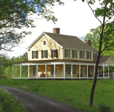 17 best images about homes on pinterest home old houses for Modular homes that look like farm houses
