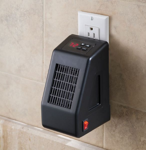 Space heaters are just something you need from time to time. Not every room in a house heats evenly, especially in older homes. The Wall Outlet Space Heater is the perfect heater for smaller rooms. This heater plugs directly into a three prong outlet and is made to heat small rooms, up to 250 square feet. It would be ideal for a small office or a bathroom where you may need a little extra warmth than you need in the...
