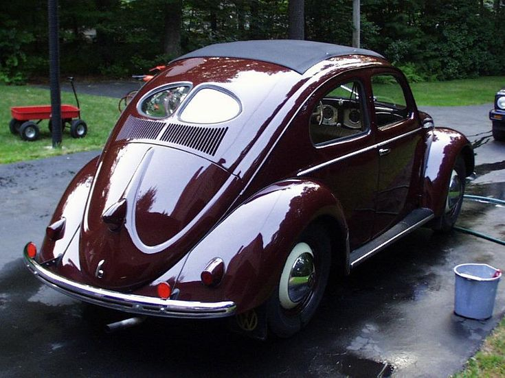 stunning vw split window ragtop beetle vw 39 s pinterest. Black Bedroom Furniture Sets. Home Design Ideas