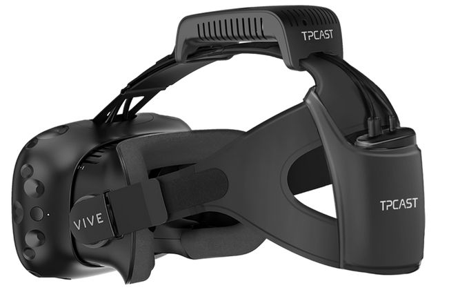 HTCs Vive VR headset gets unplugged via $220 wireless add-on