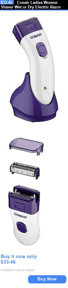 Womens Shavers: Conair Ladies Women Shaver Wet Or Dry Electric Razor BUY IT NOW ONLY: $33.46