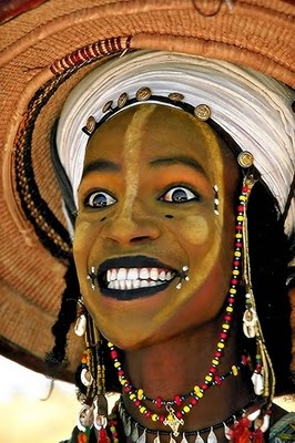 woodabe tribe, nigeria  http://video.nationalgeographic.com/video/kids/people-places-kids/nigeria-wodaabe-kids/