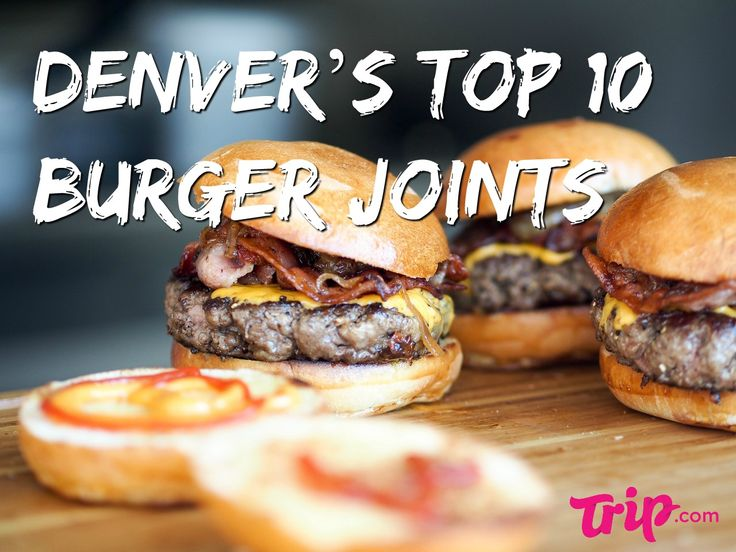 Denver is said to be the birthplace of the cheeseburger. So, if you find yourself in the City of the Plains craving a juicy hamburger, you won't be disappointed. Denver really doesn't have some of the best burgers in the country. Here are our top 10 burger joints in Denver – enjoy and try to go easy on 'em.