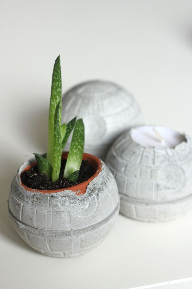Star Wars: Concrete Death Star DIY
