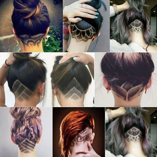 Get trendy and try this new stylish haircut that is perfect for summer. This haircut style is edgy and fabulous. Get the best of both worlds with short and long hair.: