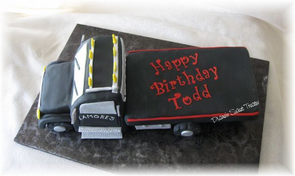 Image Result For Wrecker Birthday Cakes