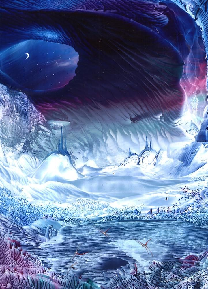 Земля ледяные замки Кэролайн старший