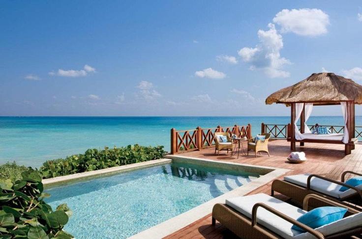 Royal suite terrace at sanctuary cap cana luxury for Sanctuary cap cana honeymoon suite