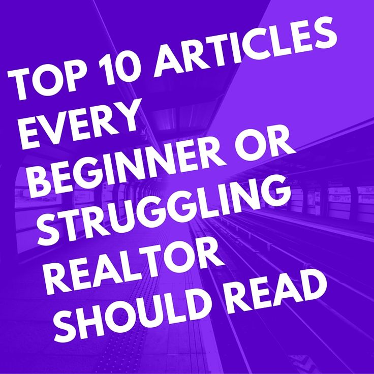 For this post, I wanted to share something quick that could add great value  to a new or struggling Realtor's day! (Or really any Realtor.)   http://www.nchomebuyers.org/investors-only-blog/list-of-the-best-articles-for-beginner-realtors