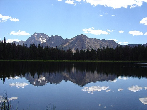 Frog Lake - Boulder Chain Lake Trail in the White Cloud Wilderness of Idaho