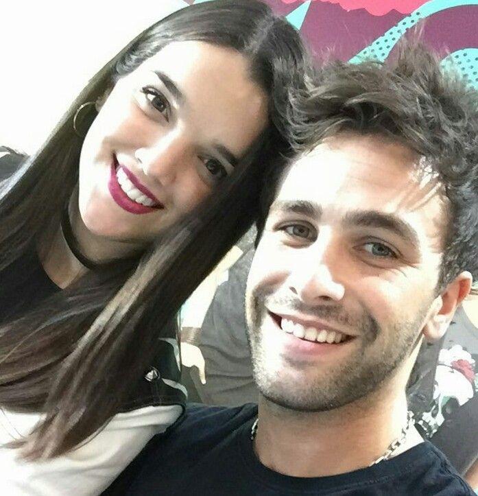 Malena Ratner e Gaston Vietto