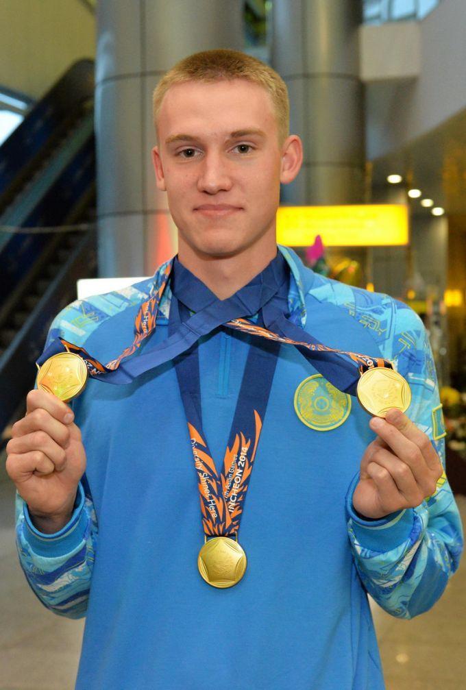 "Kazakhstani swimmer Dmitriy Balandin captured the first ""gold"" at summer Universiade in South-Korean Kwangju, according to Vesti.kz. media source."